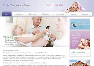 Bristol Pregnancy Scans. Web design companies in Bath.