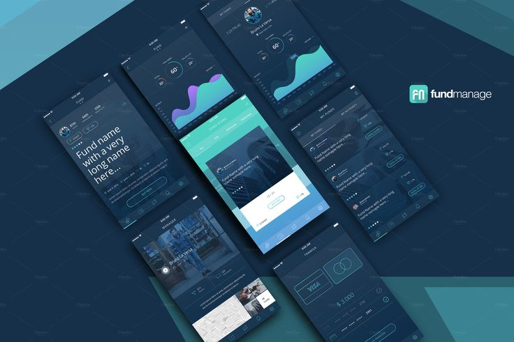 Fundmanage App by laversabruno on Creative Market