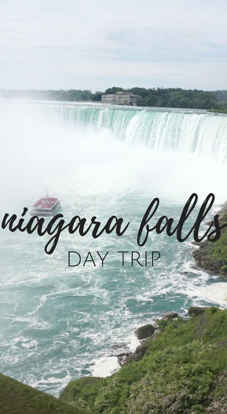 things to do at niagara falls - wondering what there is to do at Niagara Falls? This post rounds up what to do and see on the Canadian side of Niagara Falls.