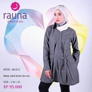 Baju Blus Wanita Rauna Model RK-012 ABu