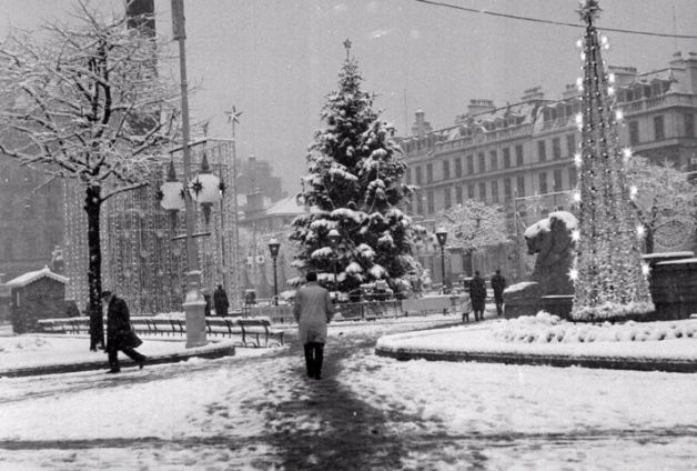 George Square in Glasgow, in 1962. Picture: TSPL