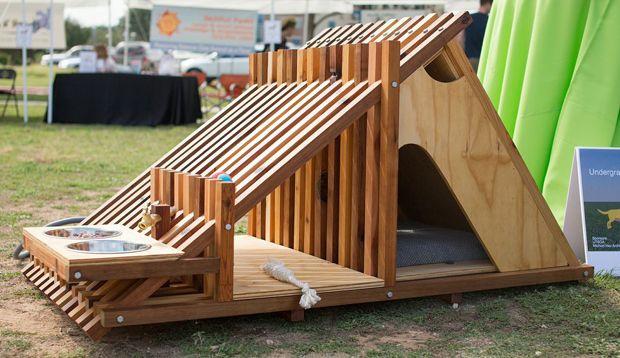 4 dog houses that are anything but ordinary dog houses for Architecture and design dog house
