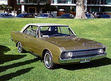 Chrysler Valiant - Wikipedia, the free encyclopedia