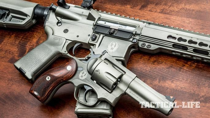 WIN a Custom Painted Ruger SR556-TD OR a Ruger Redhawk  45