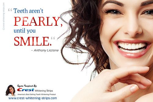 The quotographic below is brought to you by www.crest-whitening-strips.com an UK based online store that offers wide selection of crest teeth whitening kits, crest 3D stain shield, advanced vivid white strips and more with free shipping!