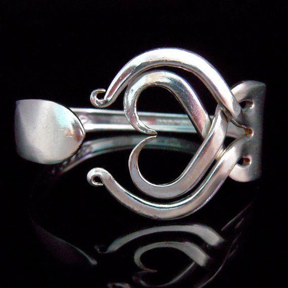 Wedding Jewelry Recycled Fork Bracelet by Marc …