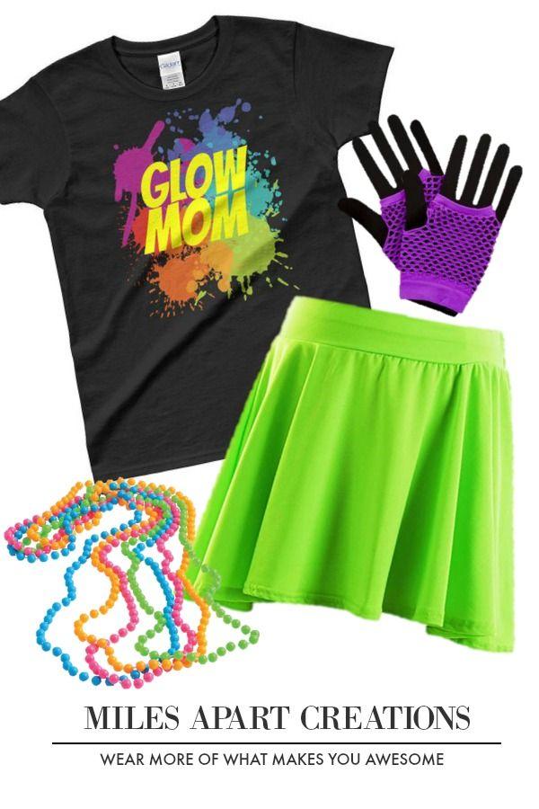 Glow Party Ladies T Shirt