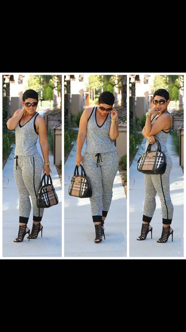 Our grey jumpsuit