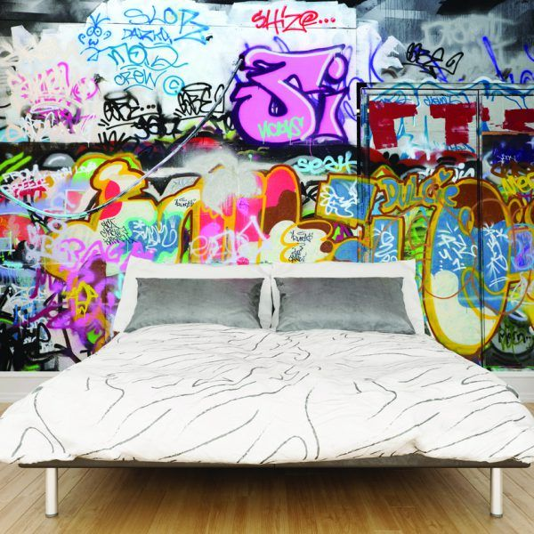 Best 25 graffiti wallpaper ideas on pinterest graffiti for Cool mural wallpaper