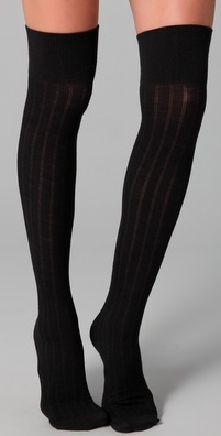 Knee socks: Thigh High Socks, Wool Thigh, Thigh Highs, Clothes Simular, Knee Socks, Fashion Accessories, Knee Highs, Kinda Style, Black Wool