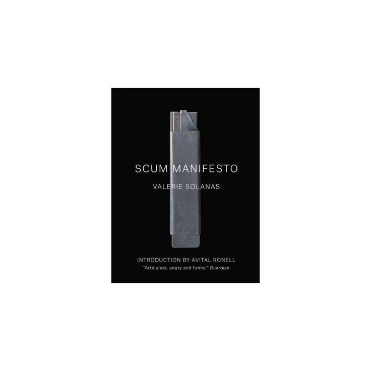 Scum Manifesto (Paperback) (Valerie Solanas)