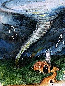 Tornadoes, Earth facts for kids:
