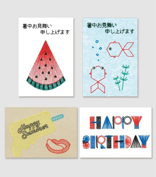 【CARD EMBROIDERY KIT】