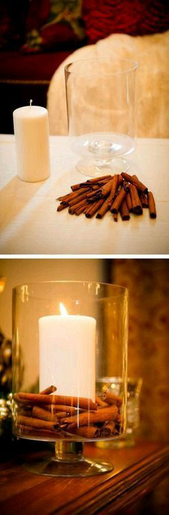 Candle with a lovely smell