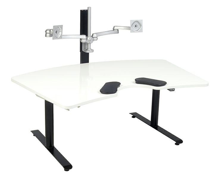 Salli – Kyynärpöytä Twin-istuimella ja korkeudensäädöllä. #habitare2014 #design #sisustus #messut #helsinki #messukeskus