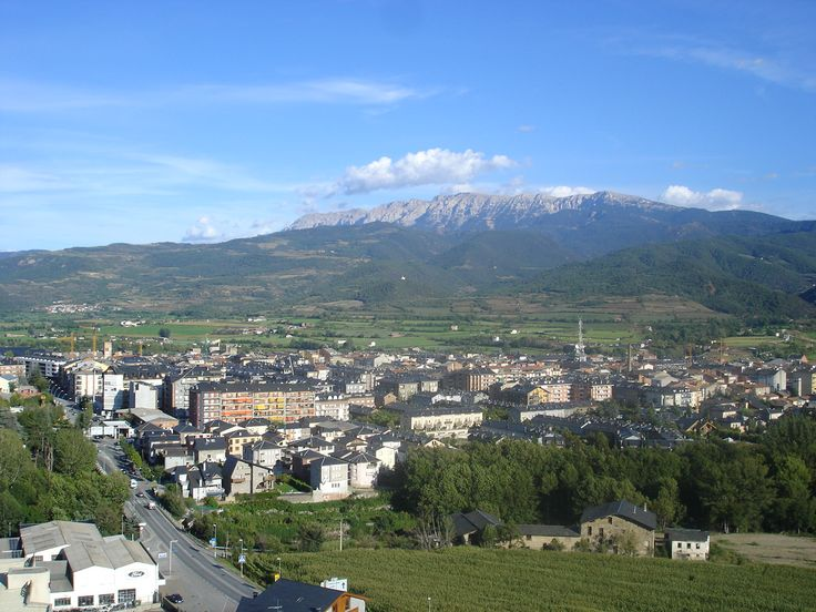 Vista panorámica de La Seu d'Urgell