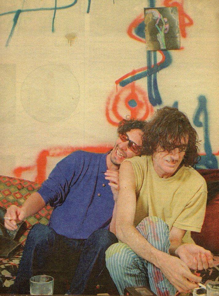 Fito Páez y Charly Garcia