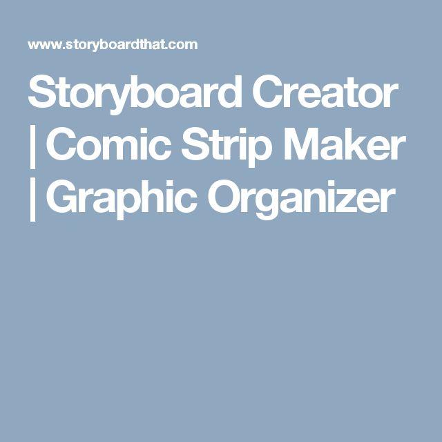 Storyboard Creator | Comic Strip Maker | Graphic Organizer