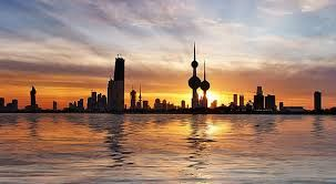 el atardecer en Kuwait ....