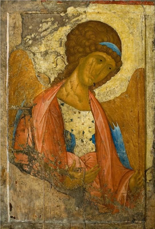 Archangel Michael, 1414			Andrei Rublev - by style - Byzantine
