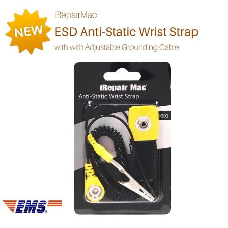 iRepairMac ESD Anti-Static Wrist Strap with with Adjustable Grounding Cable