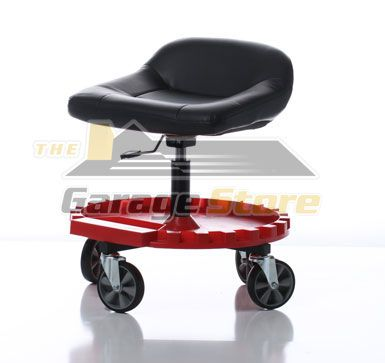 Traxion Tractor Seat Rolling Stool Mechanic Stool