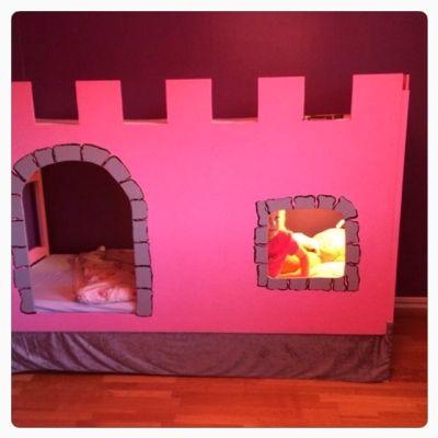 En prinsessa säng DIY