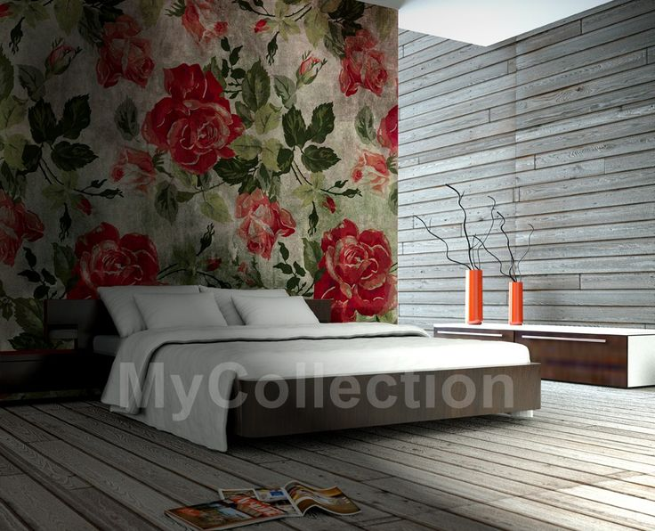Roses > Collezione Natural Instinct #wallpaper #mycollection #room #colour #design #home #office #living #natural #Roses