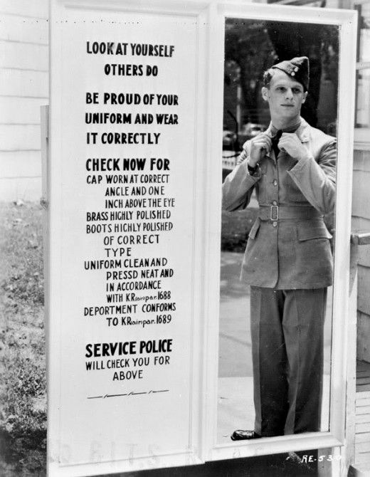 Standard of Professional Appearance in the 1940's: Unidentified Airman, Policy Photography, De Passer, C 1940S, Photography Vintage, Attendance Guidelines, Airman Check, 1940S Airforce Uniforms, Exit Gates
