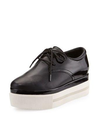 Katia+Lace-Up+Platform+Sneaker,+Black+by+Ash+at+Neiman+Marcus+Last+Call.