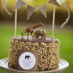 from the TomKat studio: Chocolates Cakes, Peanut Cakes, Birthday Parties, Chocolates Peanut, Safari Parties, Cakes Recipes, Parties Recipes, Peanut Butter, Pottery Barns