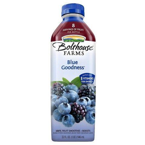 Bolthouse Farms Blue Goodness Fruit Smoothie 32 oz