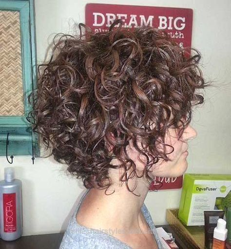 Splendid Really Pretty Short Curly Hairstyles for Women   Haircuts – 2016 Hair – Hairstyle ideas and Trends www.facebook.com/… The post Really Pretty Short Curly Hairstyles for Women   Haircut .. #WomenHaircutsMedium