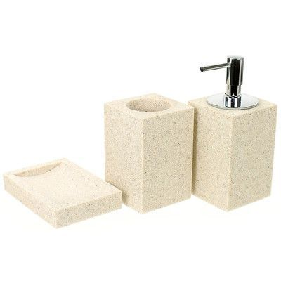 Gedy by Nameeks Oleandro 3-Piece Bathroom Accessory Set Color: