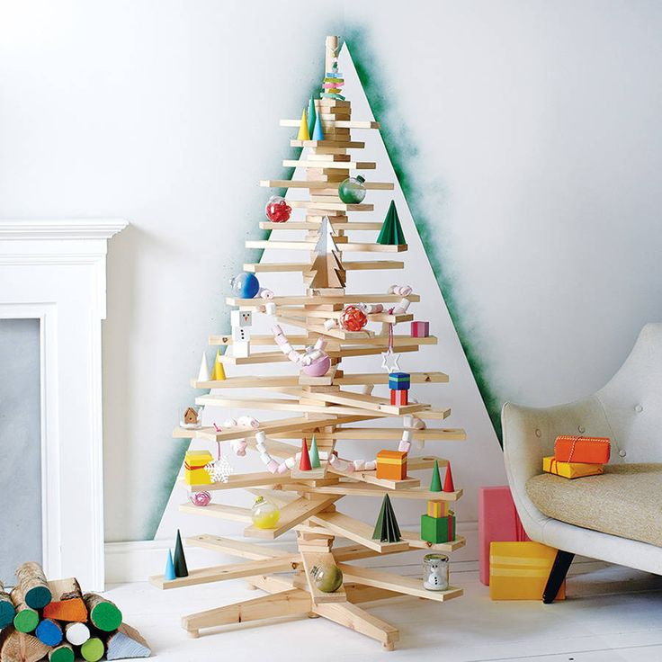 18 best Alternative Christmas Trees images on Pinterest Xmas - contemporary christmas decorations