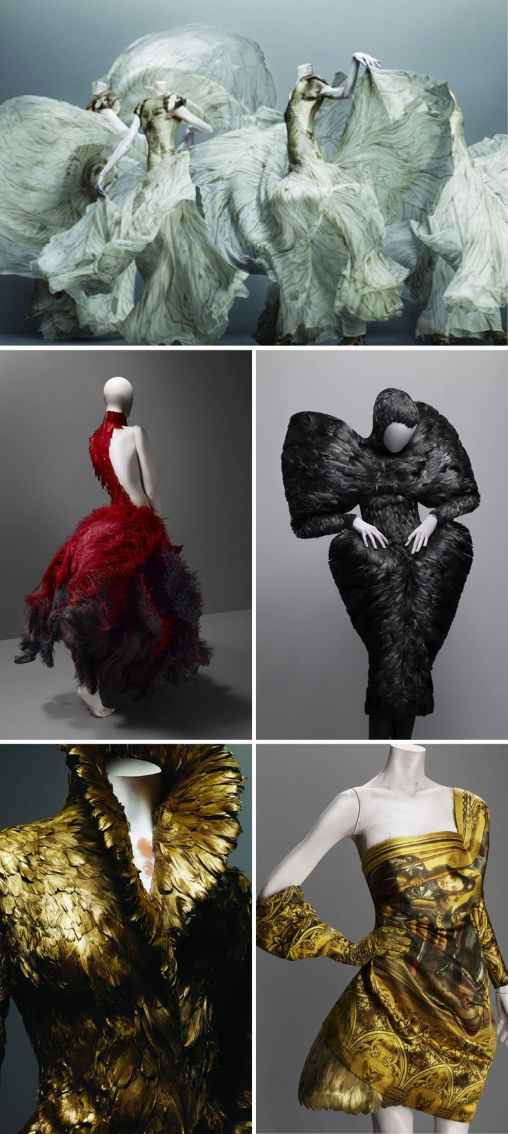 My most recent acquisition, Alexander McQueen: Savage Beauty is an amazing book. The clothes are stunning and the ideas are endless.