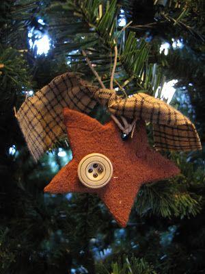 A Creative Life...: Cinnamon and applesauce Christmas Ornaments