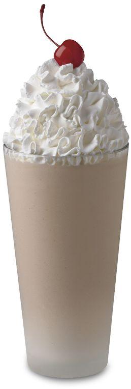 Chocolate milkshake.  And NO Soft Serve!! yummy