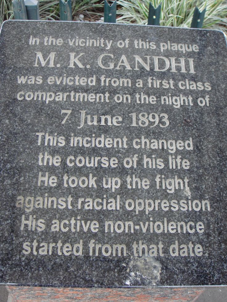 Day 8: June 7 1893 Retracing Gandhi's Footsteps | Prepare for the journey that follow's Gandhi's footsteps on the train from Durban to Johannesburg, to the exit of the stop where he was tossed out of the train because of his color. An important moment in his history that changed the course of his life forever.