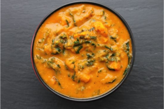 Sunshine Stew with Coconut Curry Sauce