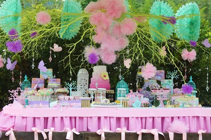 Pastel Butterfly Garden Party With Such Cute Ideas Via