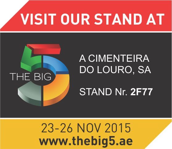 The Big 5 - International Building & Construction Show  Faça-nos uma visita! Visit us!  #acl #acimenteiradolouro #thebig5