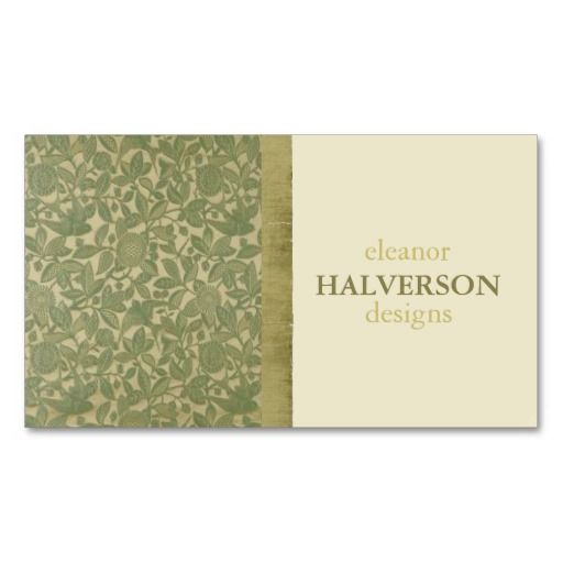 The 264 best damask business card templates images on pinterest damask professional elegant olive and cream vines business card templates reheart Gallery