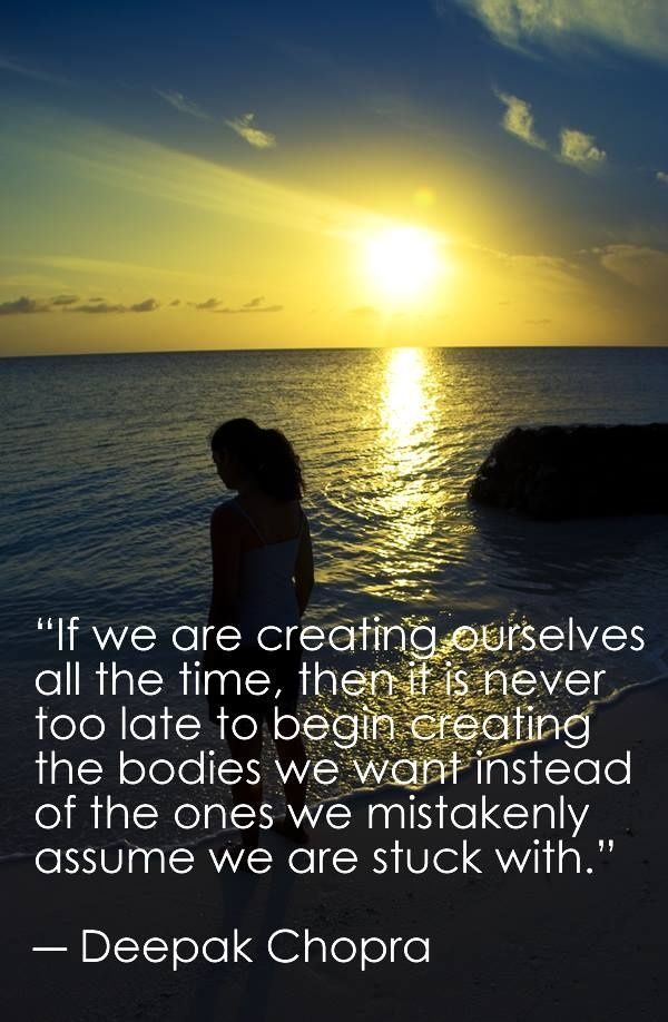 Love this quote by Deepak Chopra! | Influential | Pinterest | Deepak chopra, Quotes and Words