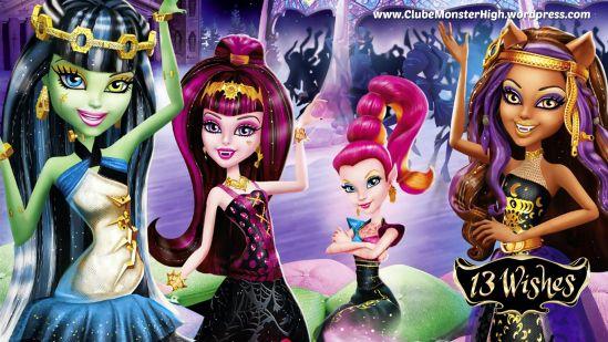 monster high three wishes | 5º Encontro Monster High na Semaan Brinquedos, vai ser DEMAIS! Não ...