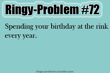LOL! That happens to me every year! My home town tournament is always on my birthday but ya know I can't complain. :)