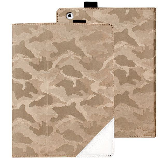 Case for iPad 2 3 4, GARUNK Camouflage Gradient Oxford Cloth Folio Stand Caser Auto Wake Up / Sleep Smart Cover for iPad 2 3 4