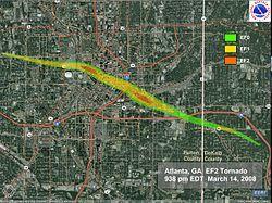2008 Atlanta tornado outbreak - Wikipedia, the free encyclopedia