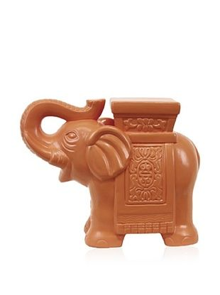 38% OFF Urban Trends Collection Ceramic Elephant (Sunset Orange)