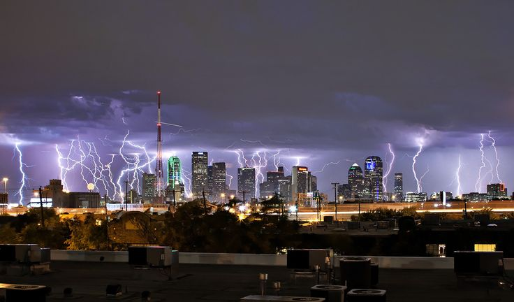 Dallas, yesterday.: Photos, Dallas Texas, Dallas Skyline, Weather, Lights Show, The Cities, Lightning Storms, Justin Terveen, Mothers Natural